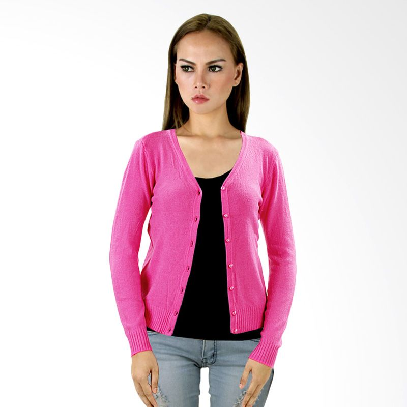 Nana Blanche Fashion NBXJ 829 Pink Cardigan
