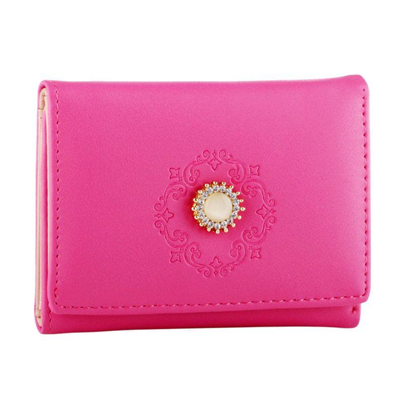 Yadas Korea 878-45 Fuchsia Wallet Dompet