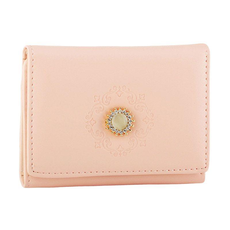 Yadas Korea 878-45 Pink Wallet Dompet