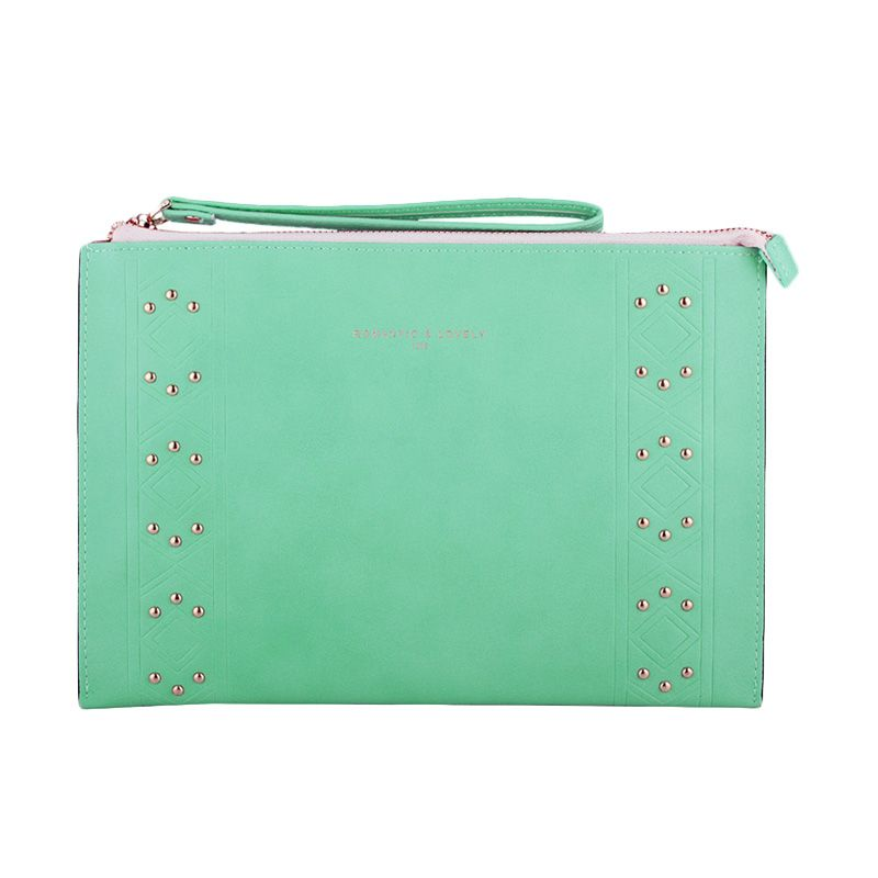 Yadas Korea 911-6 Hijau Clutch Bag