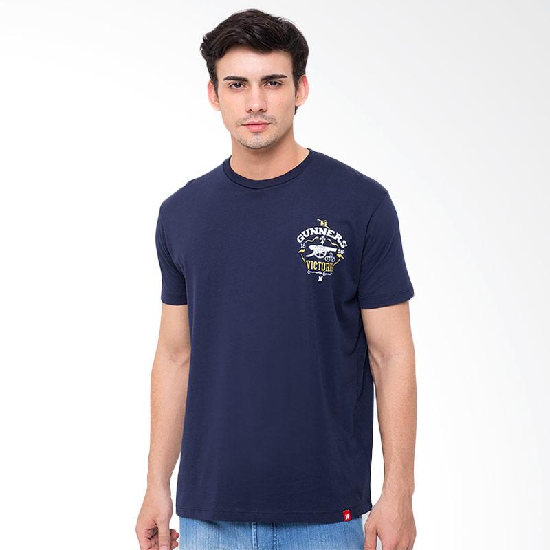 Hooligans Afc Lethering T-shirt - Biru Navy Extra diskon 7% setiap hari Extra diskon 5% setiap hari Citibank – lebih hemat 10%
