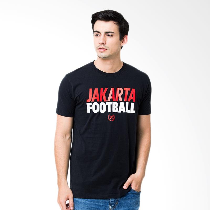 Hooligans Football Jakarta Tshirt - Hitam Extra diskon 7% setiap hari Citibank – lebih hemat 10% Extra diskon 5% setiap hari