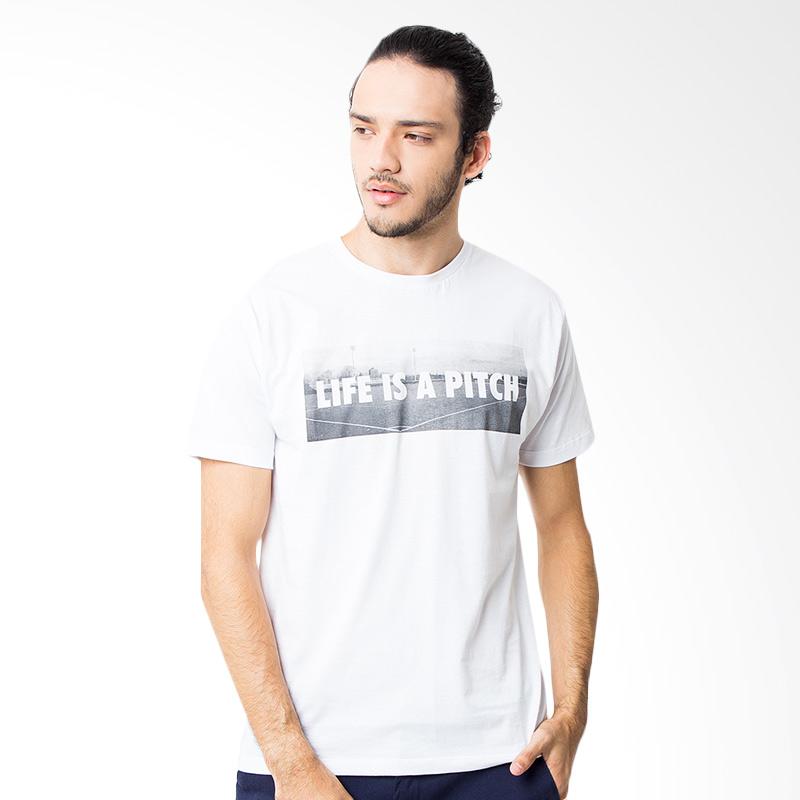 Hooligans Liap 2 T-shirt - Putih Extra diskon 7% setiap hari Extra diskon 5% setiap hari Citibank – lebih hemat 10%