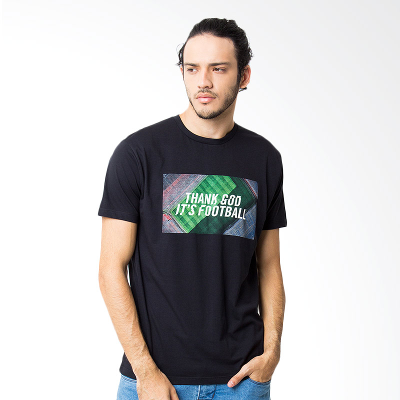 Hooligans Tgif Above T-shirt - Black Extra diskon 7% setiap hari Citibank – lebih hemat 10% Extra diskon 5% setiap hari