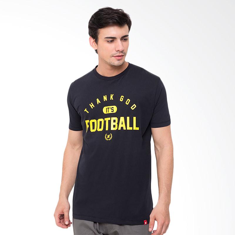 Hooligans Tgif Curv T-Shirt - Hitam Extra diskon 7% setiap hari Extra diskon 5% setiap hari Citibank – lebih hemat 10%