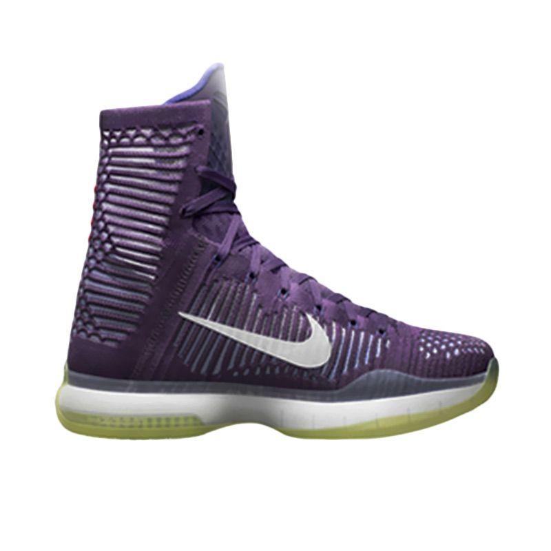 Jual NIKE Kobe X Elite Ungu Sepatu Basket Online