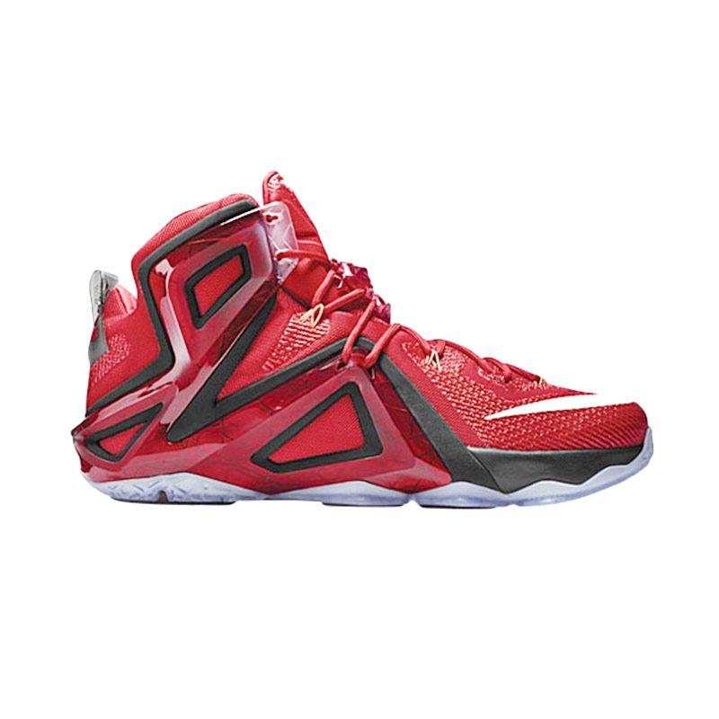 online store 48e6c e5ea1 4754a 37779  spain jual nike lebron 12 elite champion merah sepatu basket  online harga kualitas terjamin blibli 414db