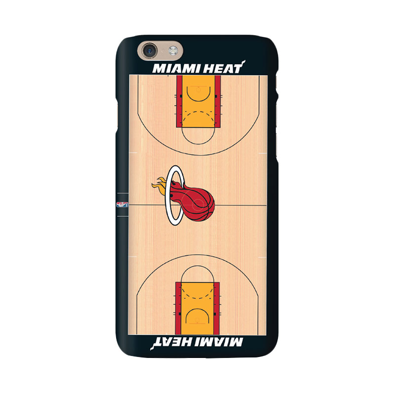 Hoot NBA Miami Heat Court Casing for iPhone 6 (SPT-MIA-COU-001-iph6)