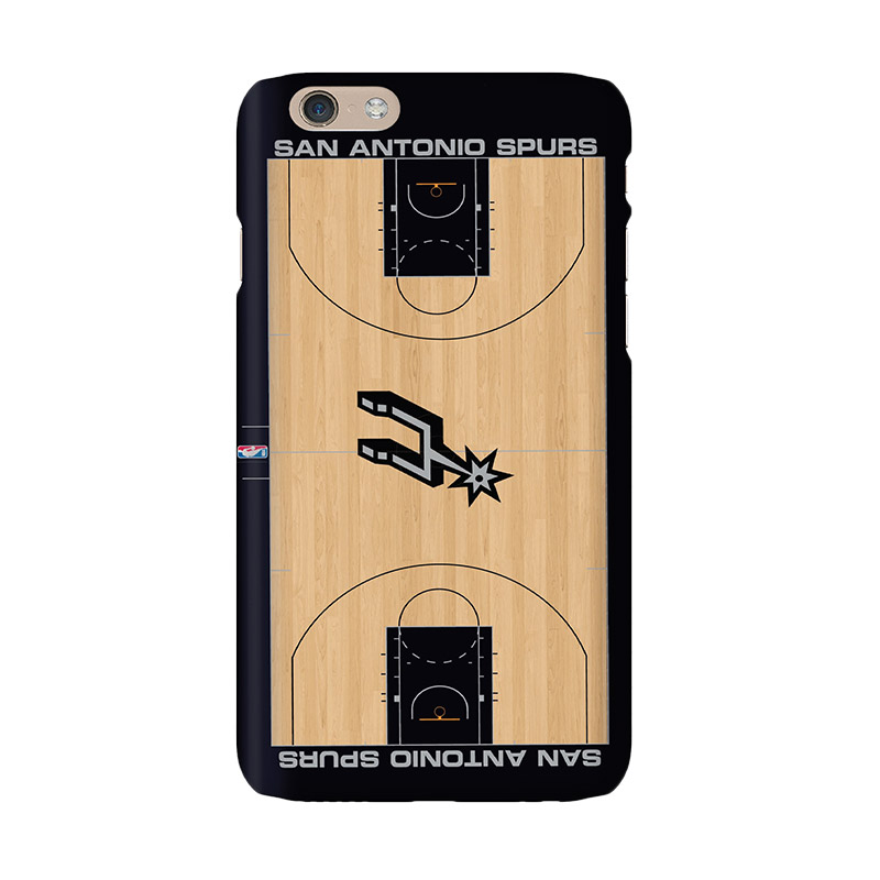Hoot NBA San Antonio Spurs Court Casing for iPhone 6 (SPT-SAS-COU-001-iph6)