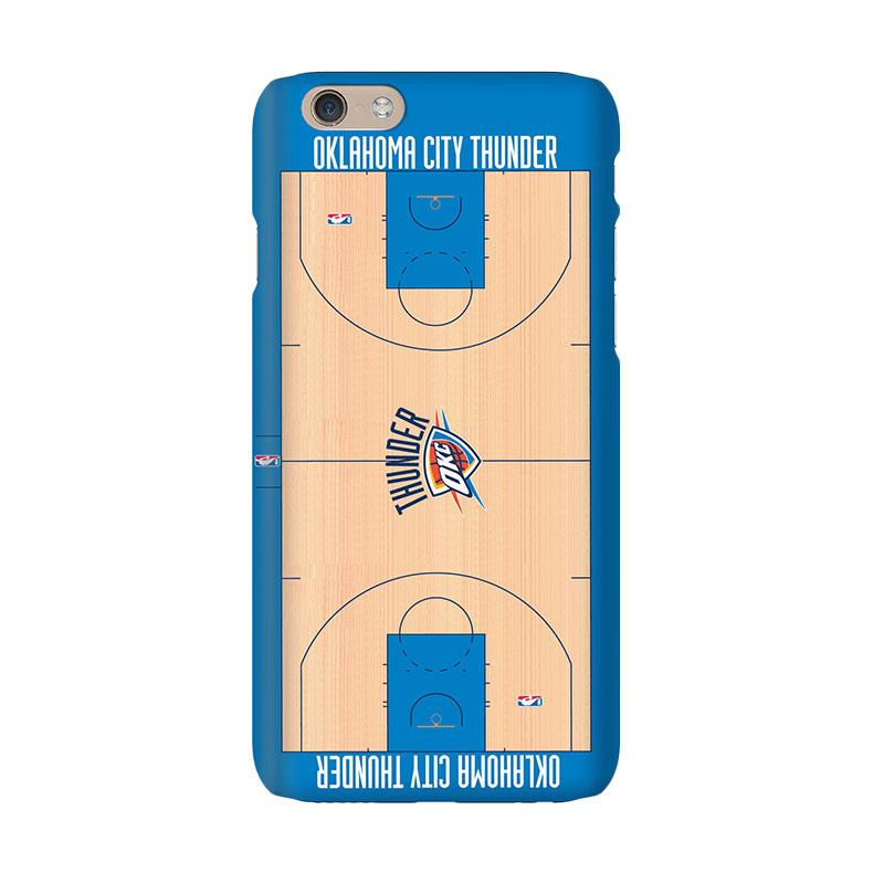 Hoot NBA Oklahoma City Thunder Court Casing for iPhone 6 Plus (SPT-OKC-COU-001-PLUS)