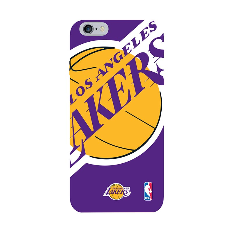 Hoot NBA Los Angeles Lakers Casing for iPhone 6 Plus (SPT-LAL-ART-XXL-PLUS)