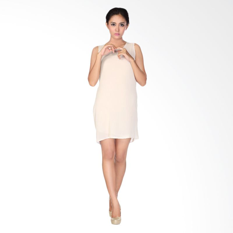 HOPE Aretha Nude Dress