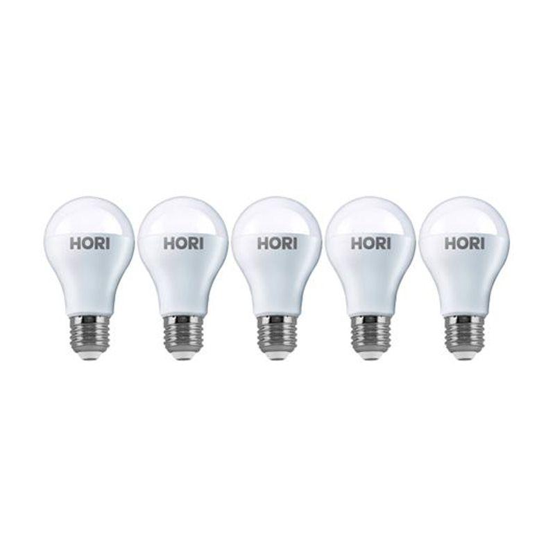 Hori Bulb Eco Putih Lampu LED [9 Watt/5 Pcs]