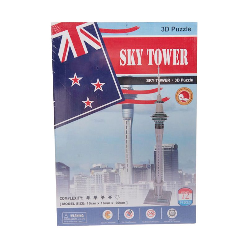 3D Sky Tower Puzzle