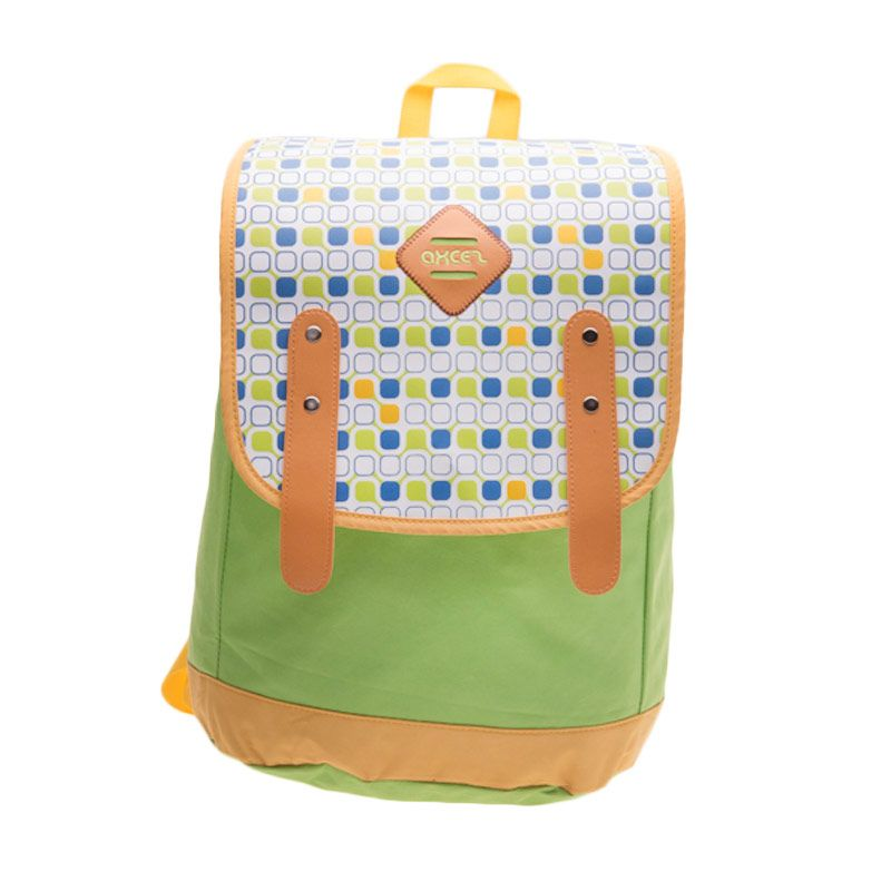 Axcez Juminten Bag 1682 Green Backpack Tas Ransel