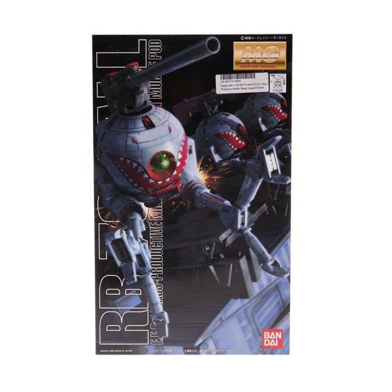 Bandai MG RB-79 Ball EFSF Mass-Productive Middle Range Support Model Kit [1:100]