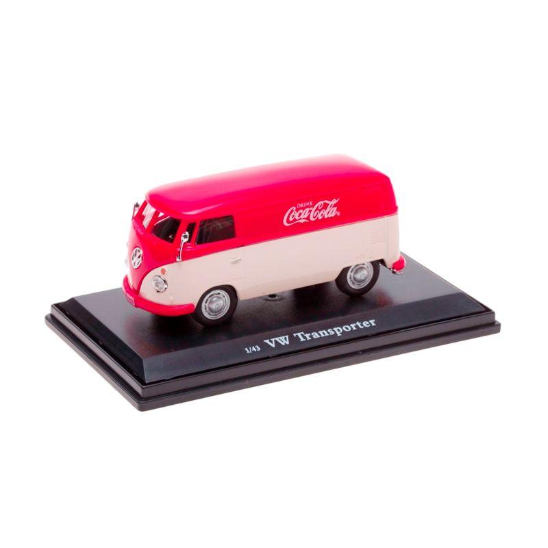 Coca Cola VW Transporter Cargo Van 1962 White Red Diecast
