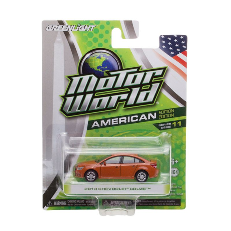 Greenlight Motor World 2013 Chevrolet Cruze Diecast