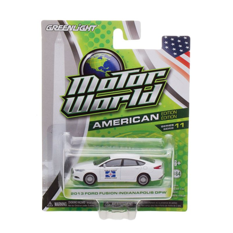 Greenlight Motor World 2013 Ford Fusion Indianapolis DPW Diecast