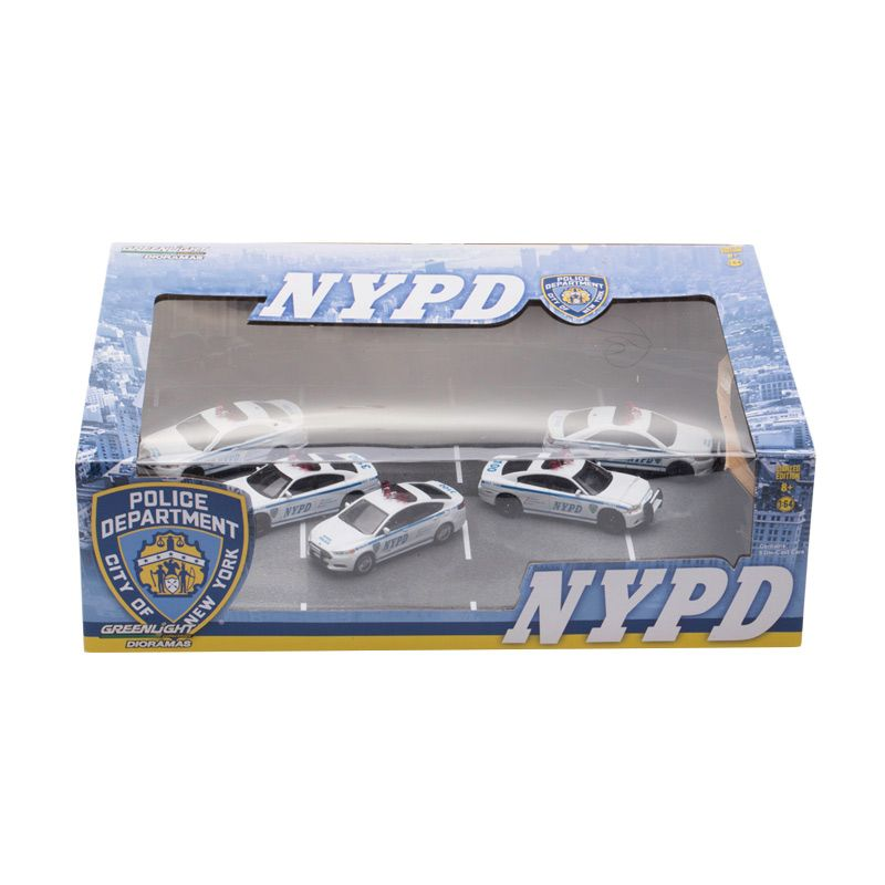 Greenlight NYPD 5 Car Dioramas Diecast