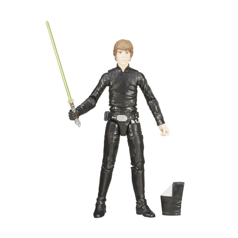Hasbro Star Wars Black Series 03 Luke Skywalker Black Action Figure [6 inch]