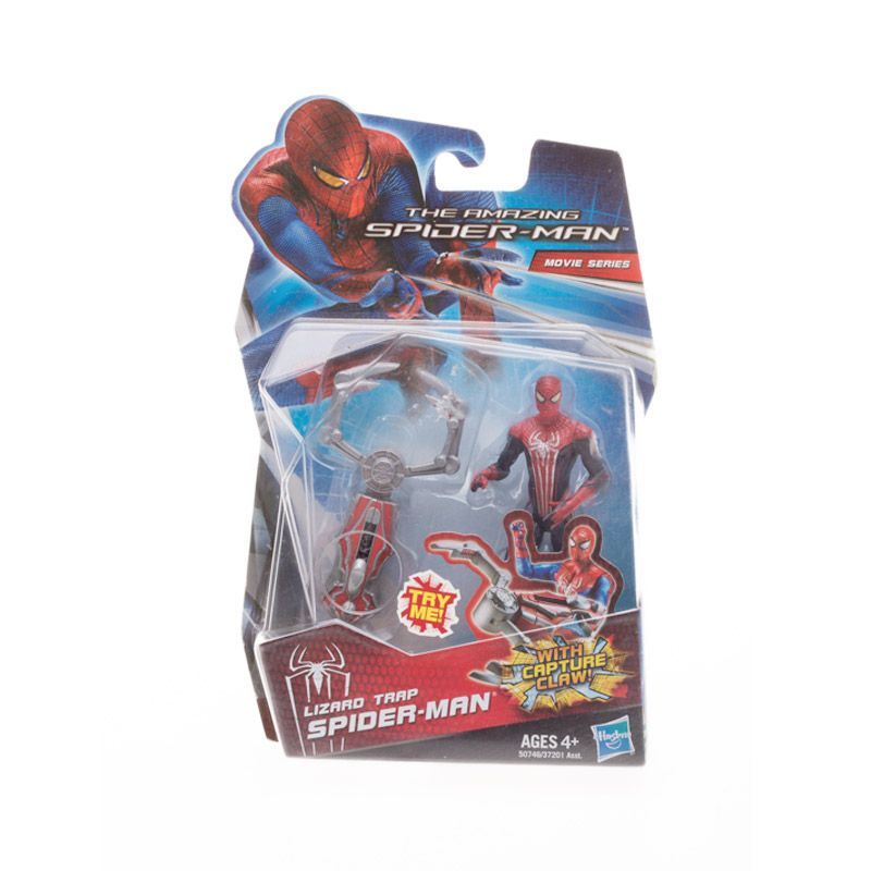 Hasbro The Amazing Spider Man Lizard Trap Action Figure