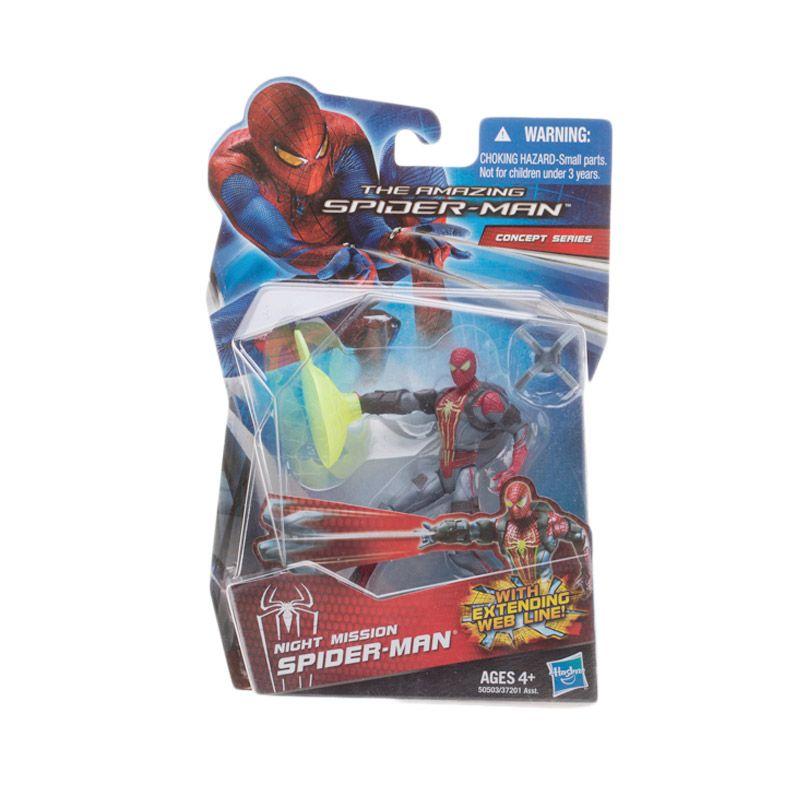Hasbro The Amazing Spider Man Night Mission Action Figure