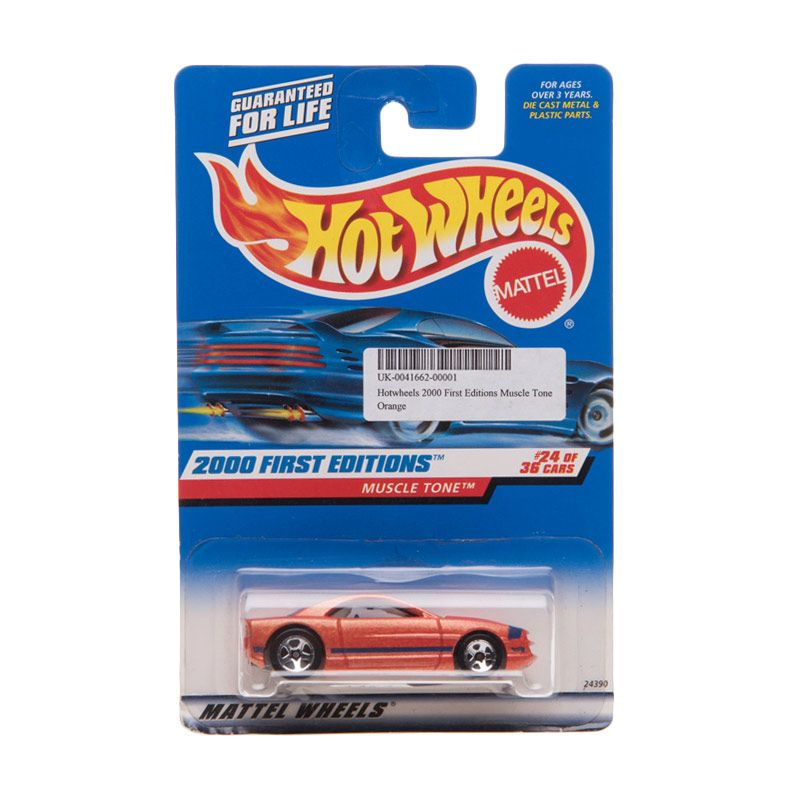 Hotwheels 2000 First Editions Muscle Tone Orange Diecast