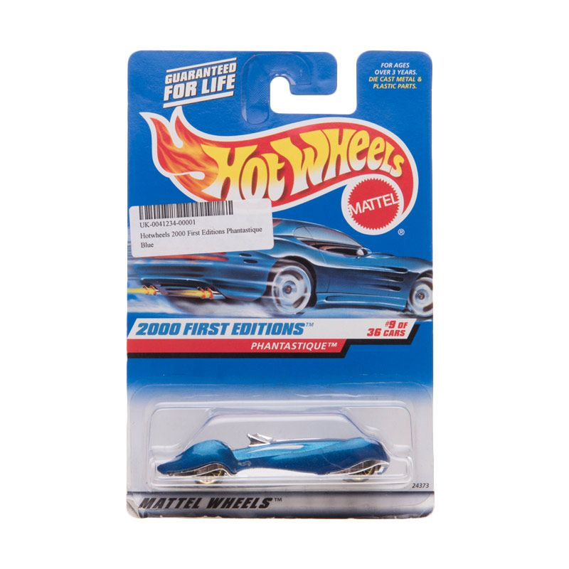 Hotwheels 2000 First Editions Phantastique Blue Diecast