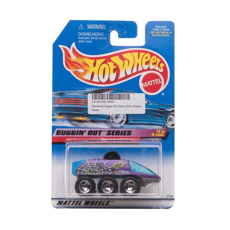Hotwheels Buggin Out Series Radar Ranger Purple Diecast