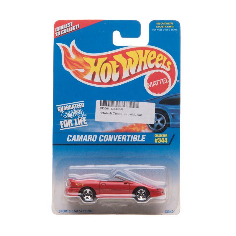 Hotwheels Camaro Convertible Red Diecast