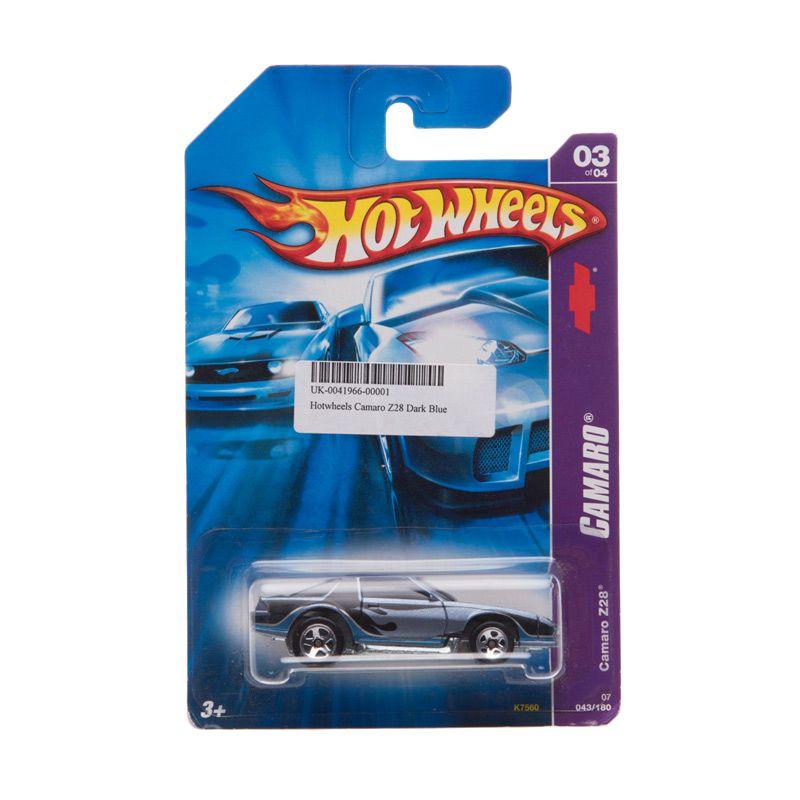 Hotwheels Camaro Z28 Dark Blue Diecast