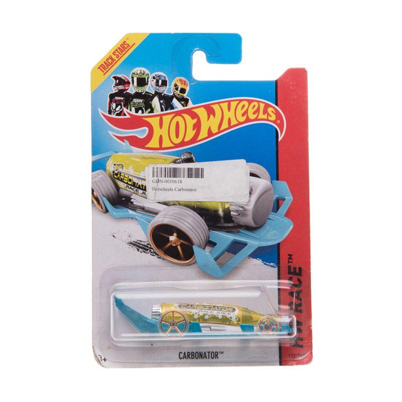 Hotwheels HW Race Carbonator Blue Yellow Diecast