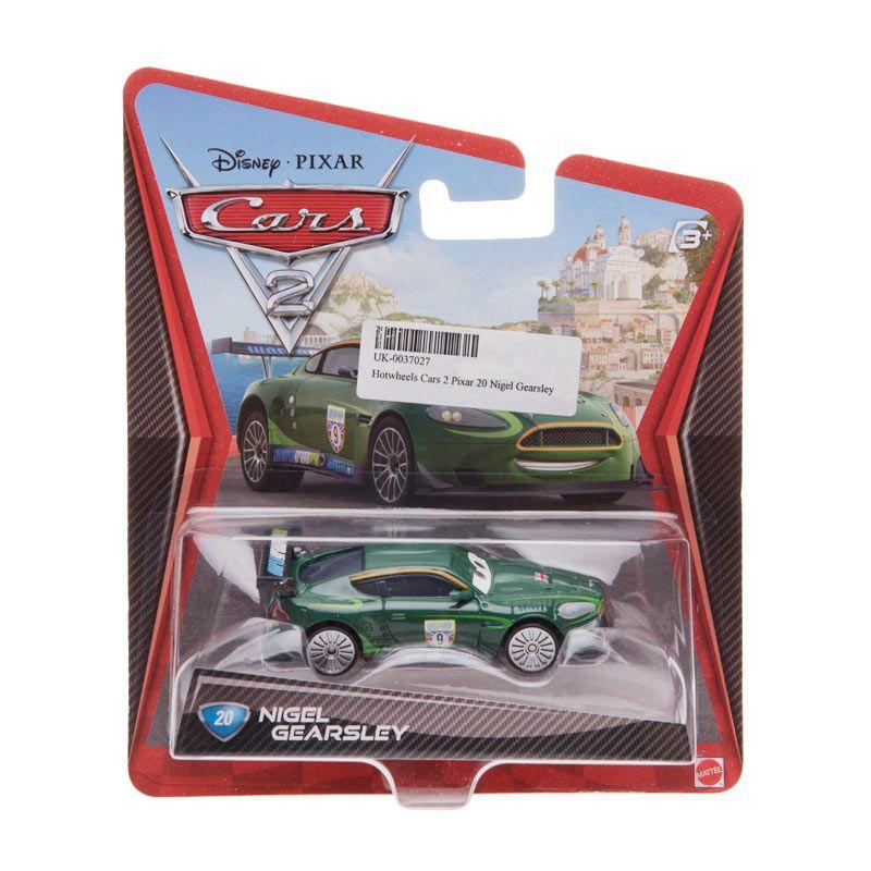 Hotwheels Pixar Cars 2 20 Nigel Gearsley Dark Green Diecast