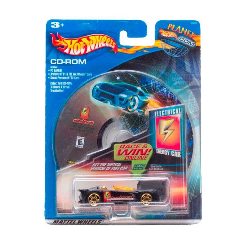 Hotwheels Electrical Energy Car Black Diecast