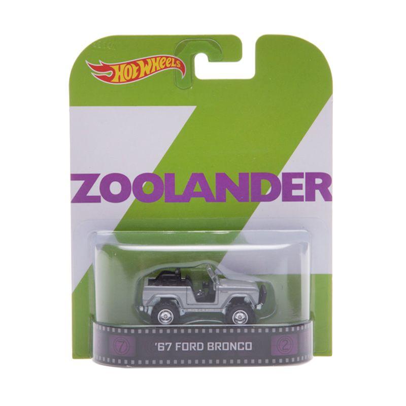 Hotwheels Collector Zoolander 67 Ford Bronco Diecast