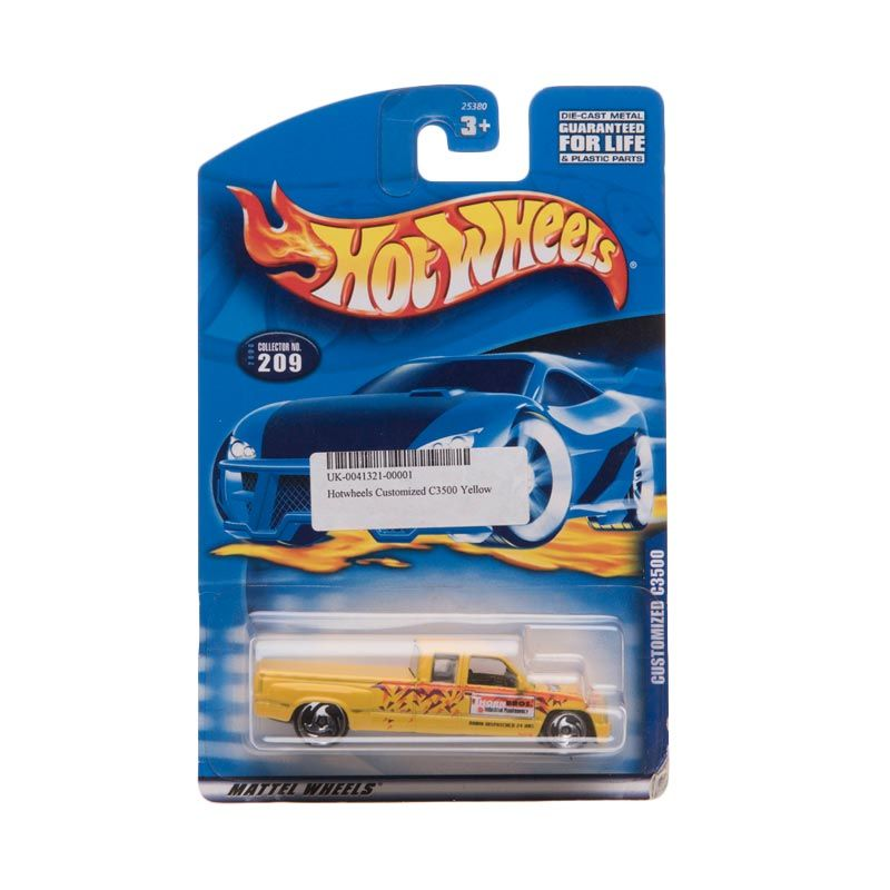 Hotwheels Customized C3500 Yellow Diecast