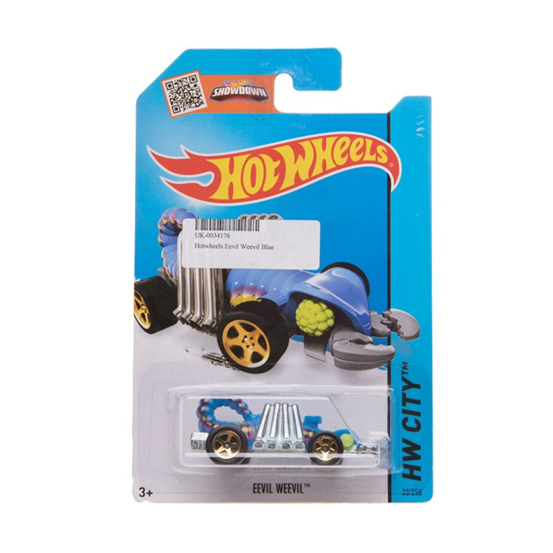 Hotwheels HW City Eevil Weevil Blue Diecast