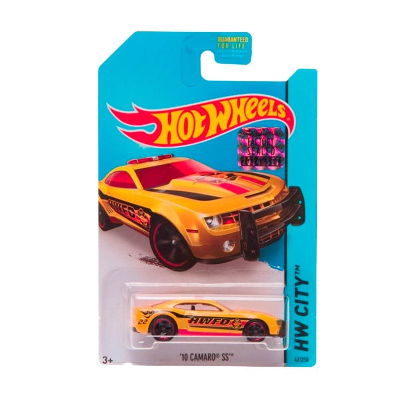 HotWheels Factory Sealed 10 Camaro SS Yellow Diecast