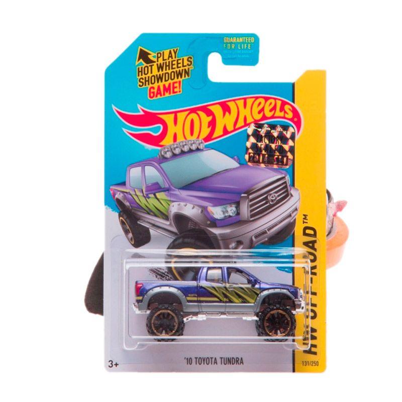 HotWheels Factory Sealed 10 Toyota Tundra Purple Diecast