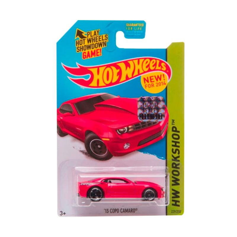 HotWheels Factory Sealed 13 Copo Camaro Red Diecast