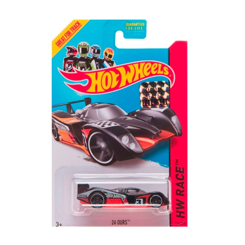 Hotwheels Factory Sealed 24 Ours Black Diecast