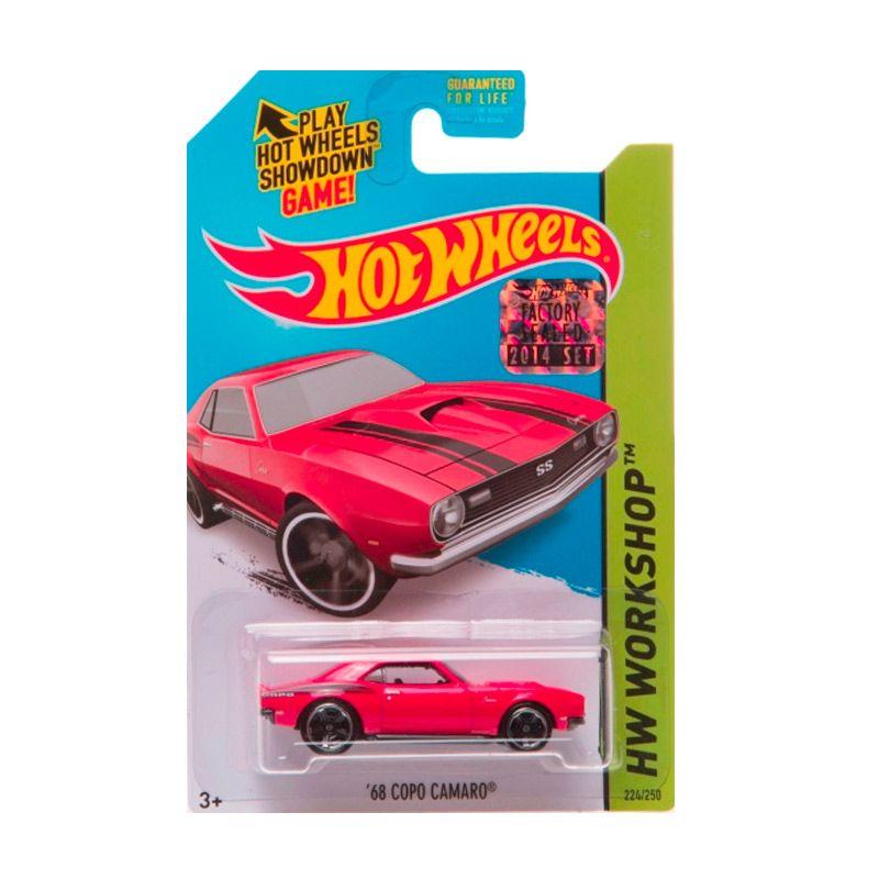 Hotwheels Factory Sealed 68 Copo Camaro Red Diecast