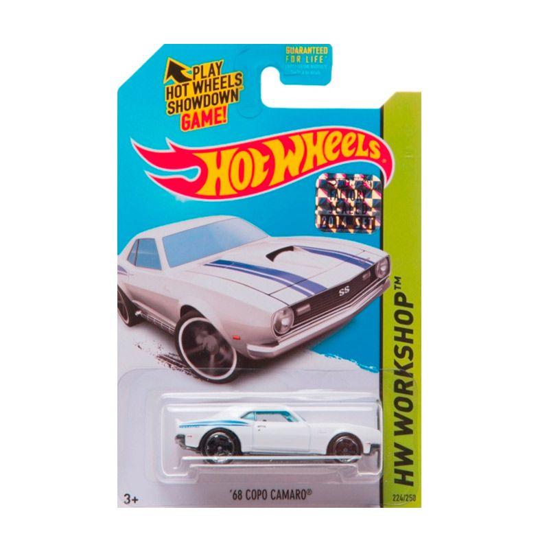 Hotwheels Factory Sealed 68 Copo Camaro White Diecast