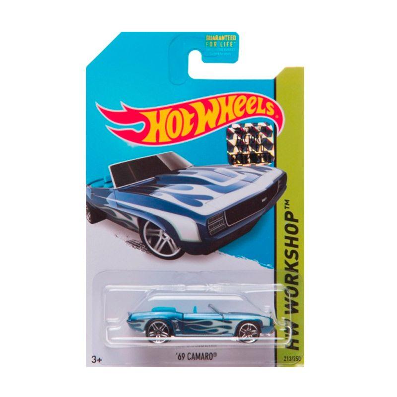 Hotwheels Factory Sealed 69 Camaro Dark Blue Diecast