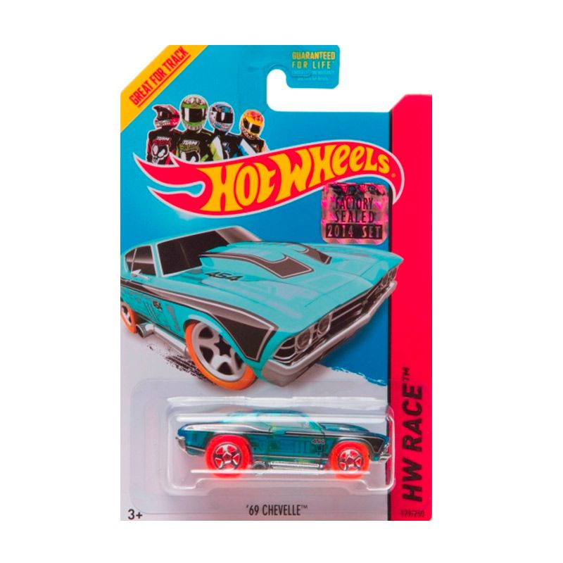 HotWheels Factory Sealed 69 Chevelle Blue Diecast