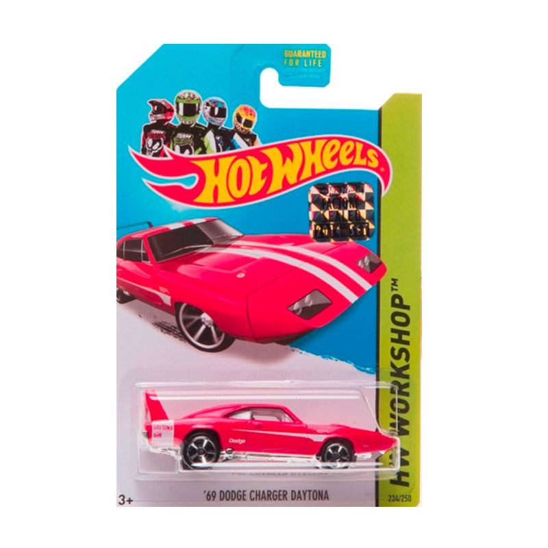 HotWheels Factory Sealed 69 Dodge Charger Daytona Red Diecast