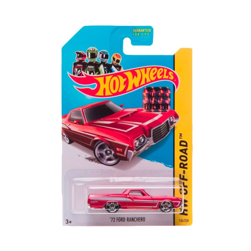 Hotwheels Factory Sealed 72 Ford Ranchero Red Diecast