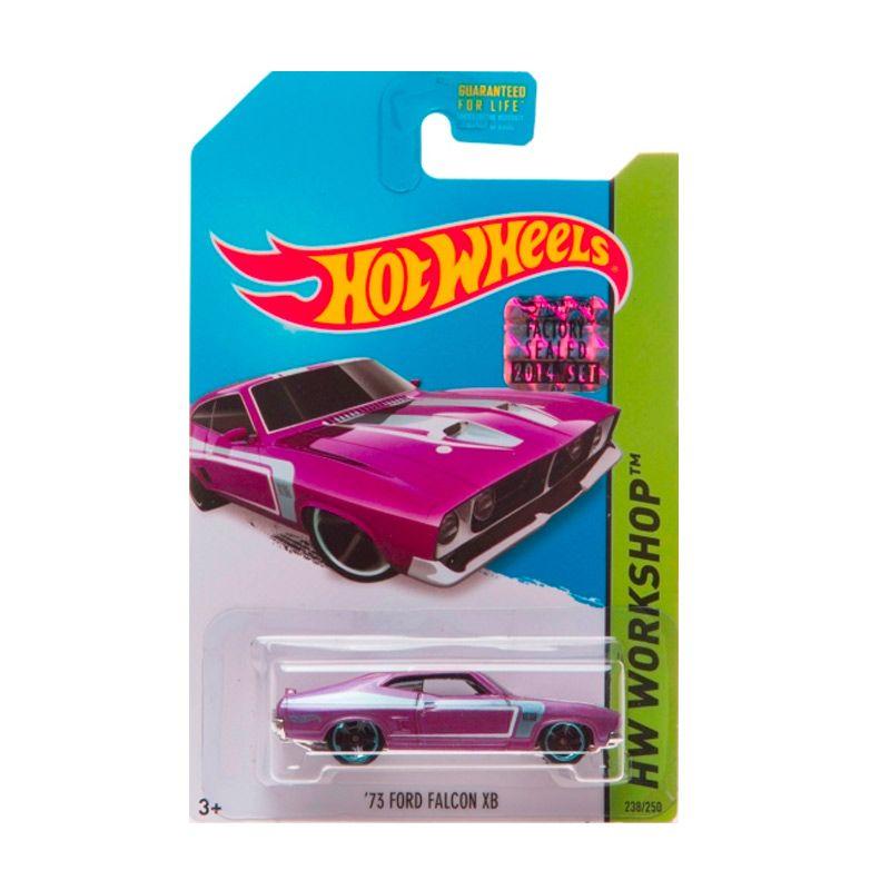 HotWheels Factory Sealed 73 Ford Falcon XB Purple Diecast
