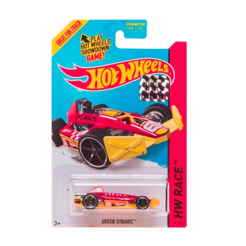 Hotwheels Factory Sealed Arrow Dynamic Red Diecast